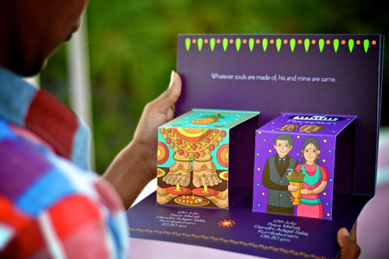 Wedcyclopedia Invitation Ideas – Indian Wedding Invitation Ideas